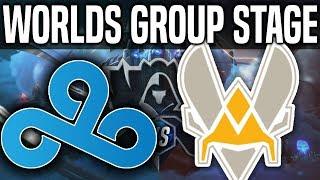 C9 vs VIT - Worlds 2018 Group Stage Day 5 - Cloud9 vs Vitality - Worlds 2018 Group Stage Day 5