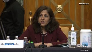 <b>Neera Tanden</b> Grilled Over Social Media Posts | The View