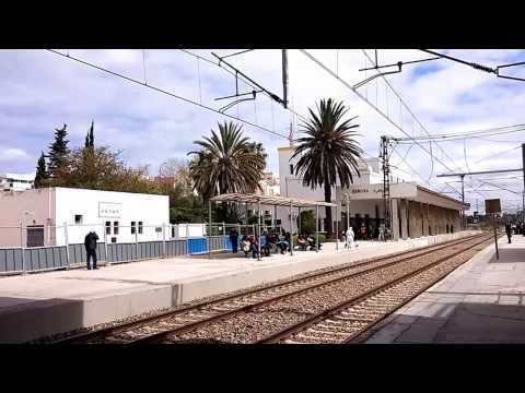 Gare TGV Kenitra en construction 03/2017