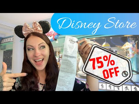 Disney Store Clearance! 75% Off or MORE!! 😱