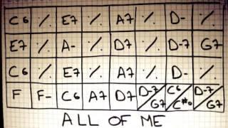 Play ALong Manouche - ALL OF ME - 7min!! - Gipsy Jazz