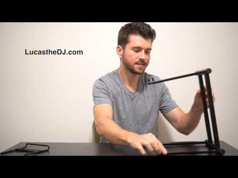 Rockville RLS2400 DJ Laptop Stand - Review by Lucas the DJ
