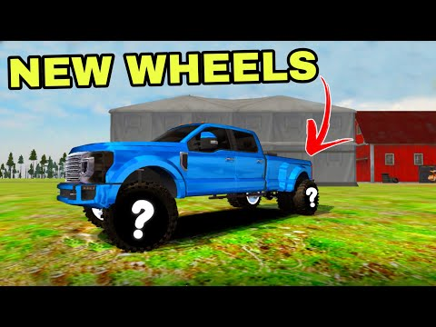 Offroad outlaws    NEW *LIGHTNING MCQUEEN* CAR IN GAME & F450 GETS NEW WHEELS!  