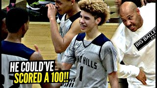 3 Years Ago LaMelo Ball Scored 92 Points & Could've Had 100! How It All Happened!?