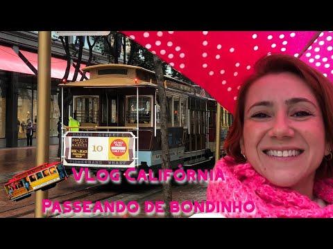 O melhor de São Francisco |  Bondinho, Lombard Street e Ghirardelli Square | Vlog Califórnia # 13