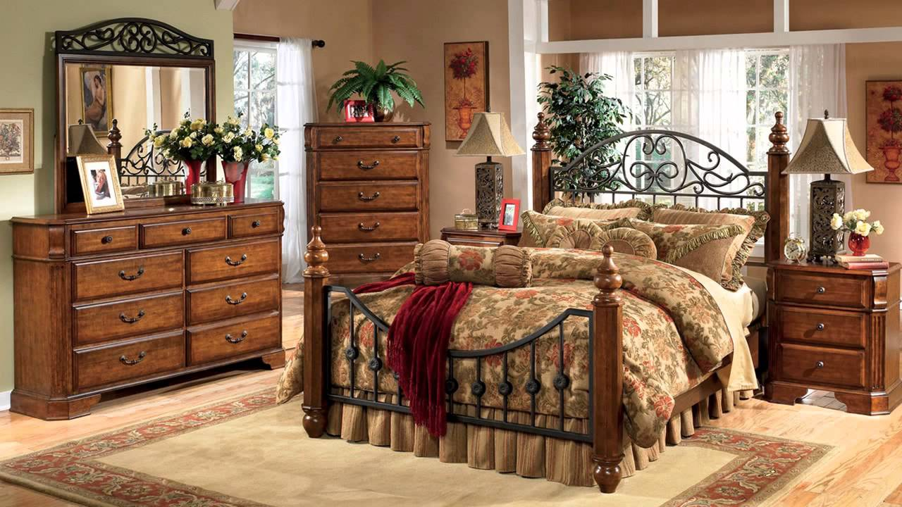 King Size Ashley Furniture Bedroom Sets Discontinued