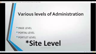 Liferay 6.2 Tutorial Series Part 11 Site and various levels of Administration in liferay complete