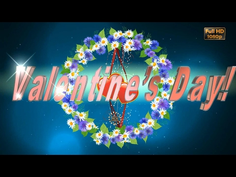Happy Valentines Day 2018,Wishes,Whatsapp Video,Valentine's Day Greetings,Animation,Message,Download