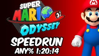 Super Mario Odyssey Speedrun | Any% Beaten in 1 Hour and 20 minutes!