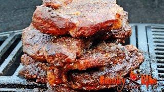 Memphis Style Rendezvous BBQ Pork Steaks