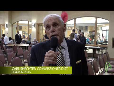 Carl Shechter Southwest Focal Point Community Center Campus Renaming Ceremony