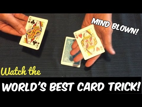 Worlds Best Card Trick With Regular Cards