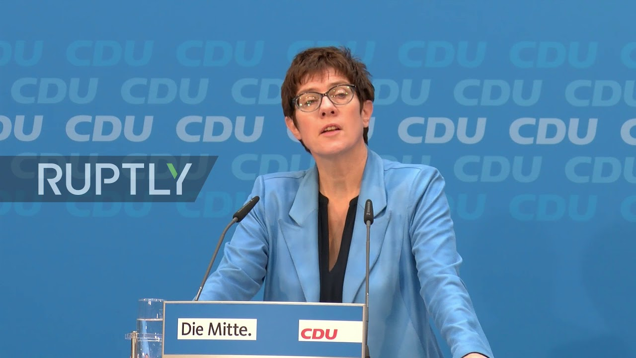 Germany: CDU Secretary General praises new government coalition