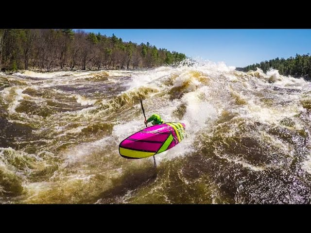 Big Wave Kayaking: 2018 Stakeout Moments