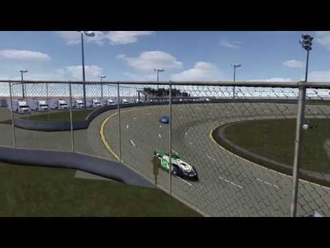 rFactor - DirtFactor Late Models - Dodge City Raceway Park (Race)