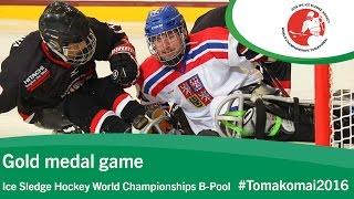 Gold medal game| 2016 Ice Sledge Hockey World Championships B-Pool, Tomakomai thumbnail