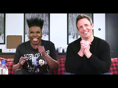 Seth Meyers And Leslie Jones Geek Out Watching 'Game Of Thrones'