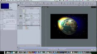 Motion 3 Tutorial: The Earth, Sun and Stars Part 2
