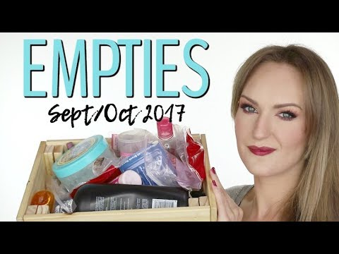 Empties - September & October 2017