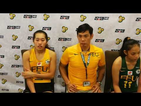 Coach George Pascua and Bernadette Pons on bringing the FEU Lady Tamaraws back in the finals