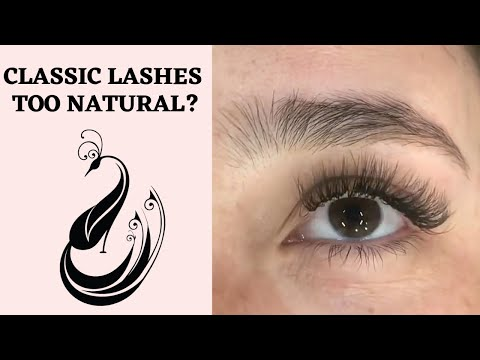 What If Classic Is Too Natural? Hybrid Fix Tutorial | Eyelash Extensions 101