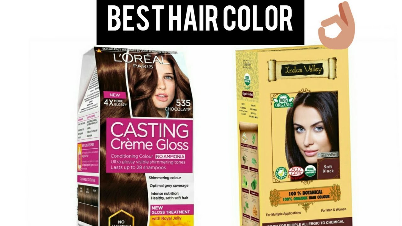 Top 5 Best Hair Color Brands In India With Price I Neha Preet Youtube