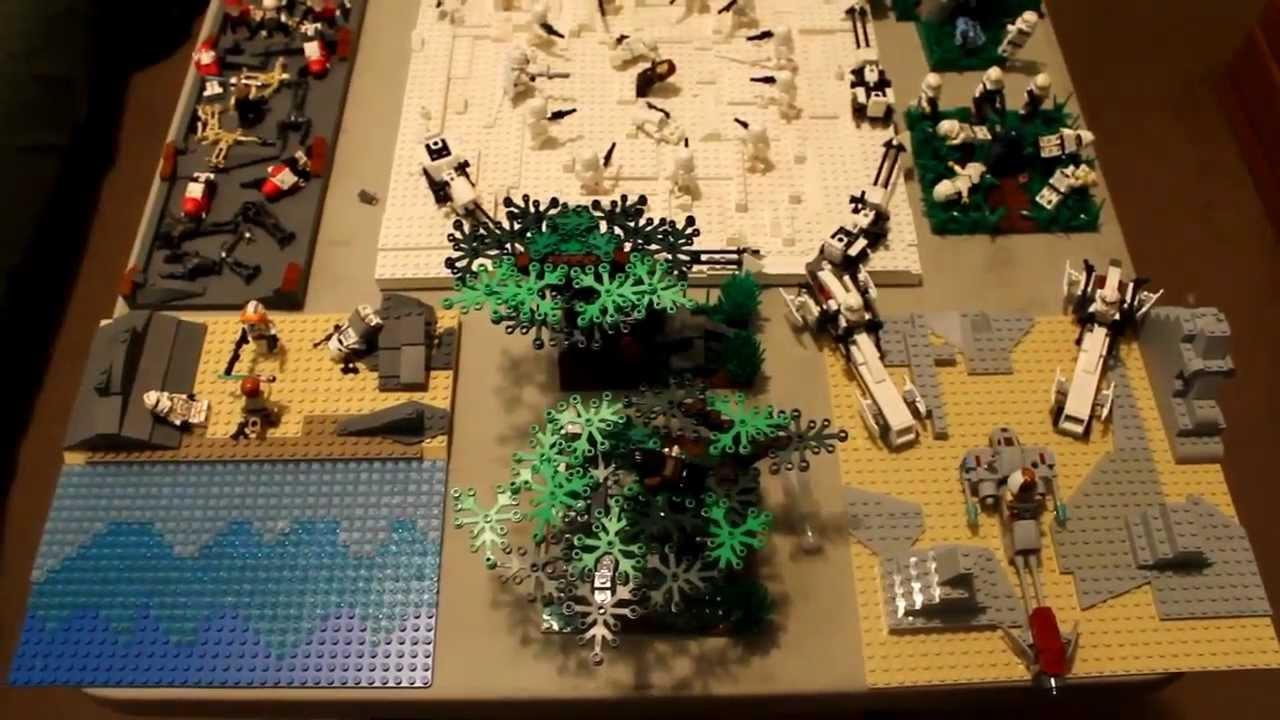 Lego Star Wars Episode Iii Revenge Of The Sith Order 66 Mocs Youtube
