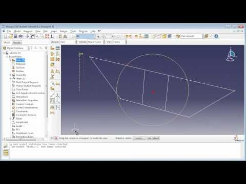 Static Analysis of a 3D I-Beam Frame  (1 of 3)