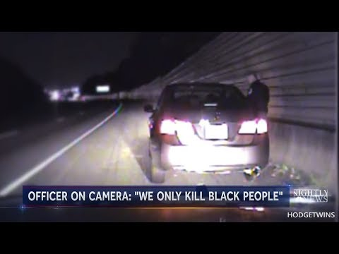 Cop Says We Only Kill Black People @Hodgetwins