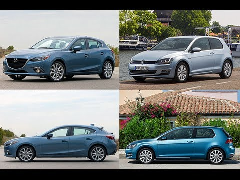 2014 mazda3 vs golf youtube. Black Bedroom Furniture Sets. Home Design Ideas