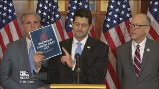 How Trump is trying to sell Republicans on the health care bill