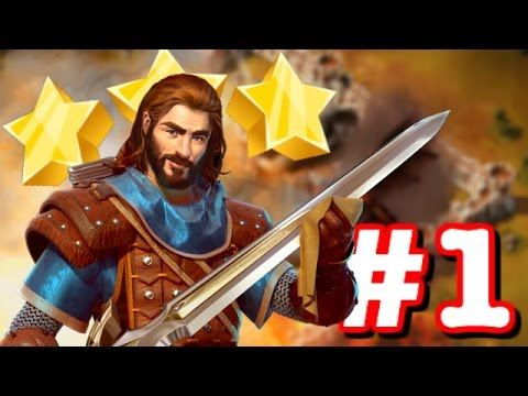 LET'S GET 3 STARS! - New Addictive Strategy Game! -  SiegeFall Gameplay Part 1