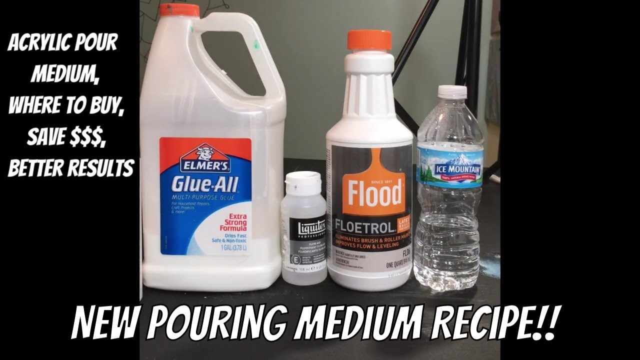 New Pouring Medium Recipe For Pouring Medium With Links To Buy