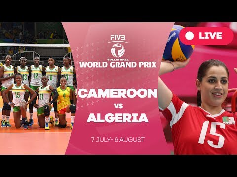 Cameroon v Algeria - Group 3: 2017 FIVB Volleyball World Gra