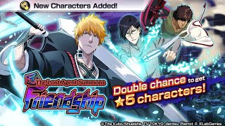 The Lost Agent Summons: FRIENDSHIP! New 5* Ichigo, Uryu, Chad: Bleach Brave Souls