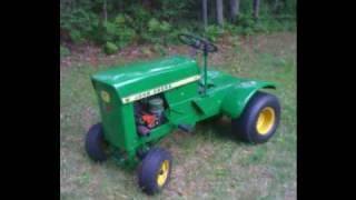 john deere model 60 lawn tractor