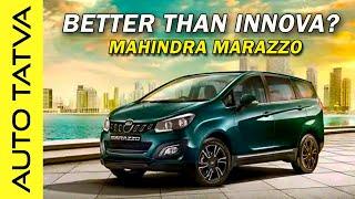 Mahindra Marazzo - Innova Crysta beware ?? | Hindi | Auto Tatva