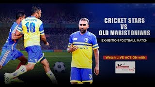 Cricket Stars vs Old Maristonians - Exhibition Football Match
