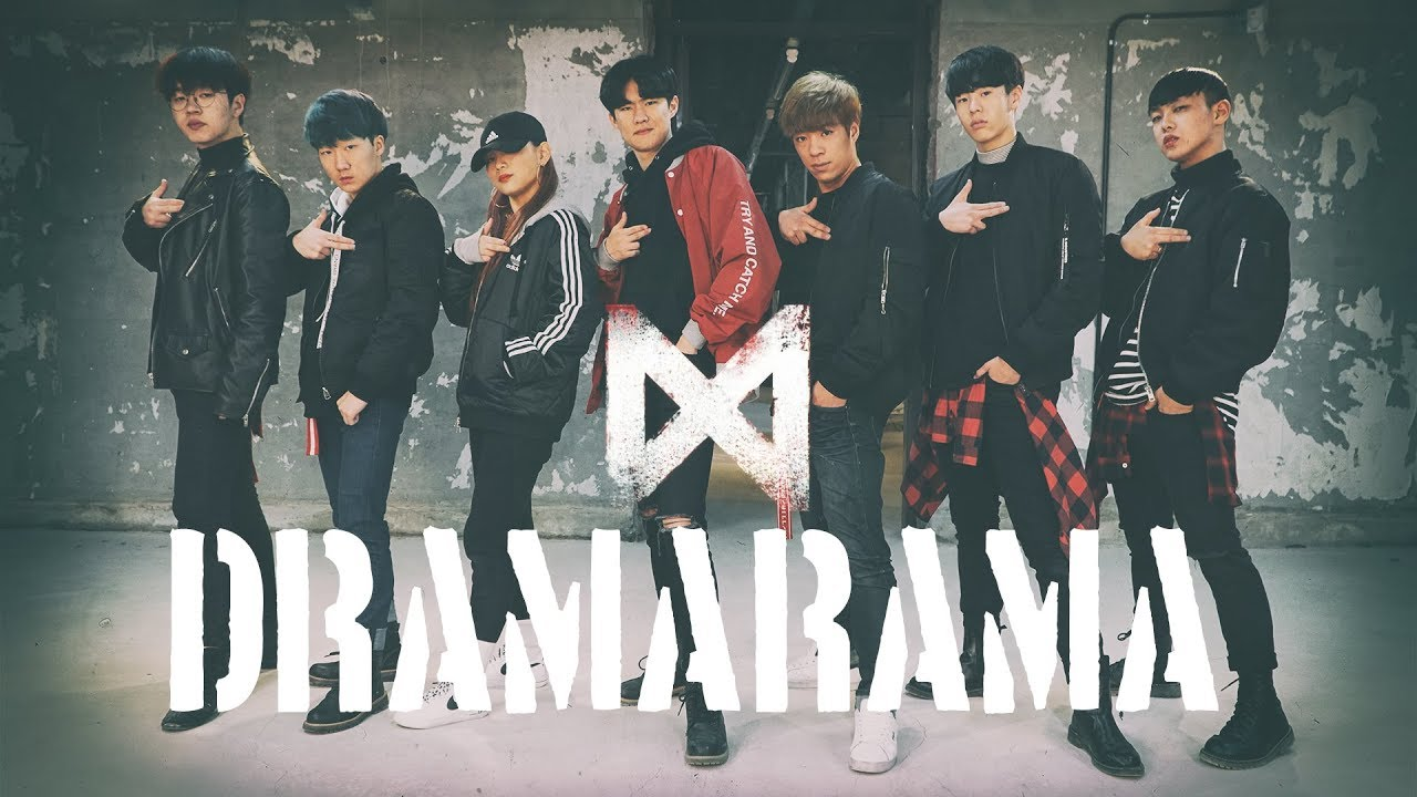 ab monsta x dramarama dance cover. Black Bedroom Furniture Sets. Home Design Ideas