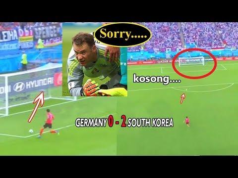 Detik-detik NEUER Lakukan Blunder | Jerman 0-2 Korea Selatan
