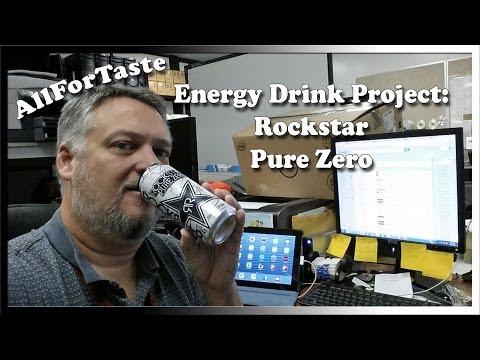 Energy Drink Project: Rockstar Pure Zero