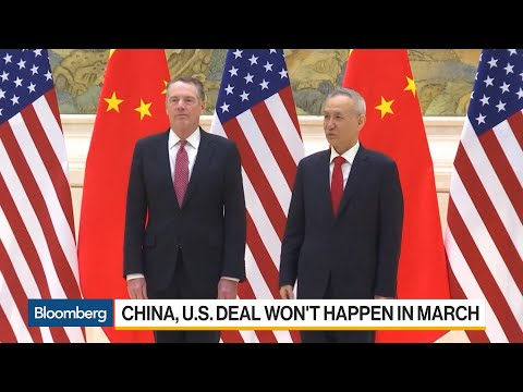 Trump Expects News on China Deal in 3-4 Weeks
