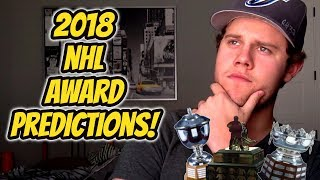 2018 NHL Award Predictions!   Auddie James