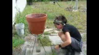 Leeching Wood Ash To Make Homemade Soap Using Potash Lye