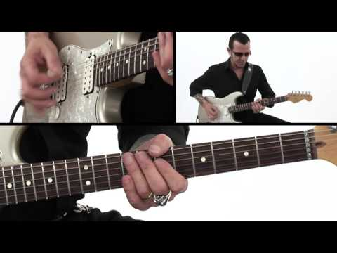 Blues Rock Guitar Lesson - Almost Over You: Rhythm Breakdown - Gary Hoey