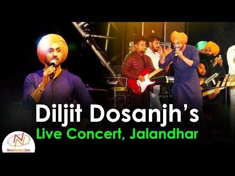 Diljit Dosanjh's Live Concert in Jalandhar