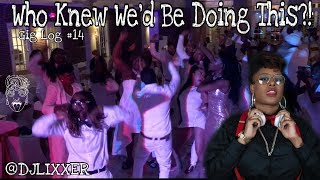 THE ALL WHITE WEDDING OF THE YEAR! Feat. DJ Eighty8 | Female DJ Gig Log #14 | #LiXxerExperience TV