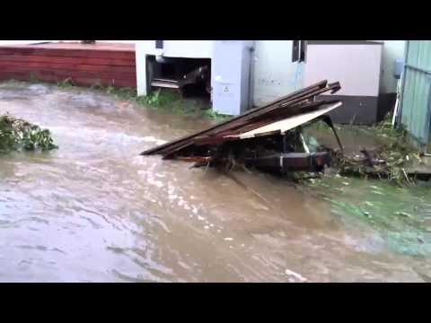 Ferntree Gully Flash flood 5-2-2011