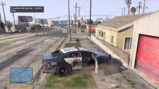 GTA V : Police Crusier Gameplay! - Cop Has Last Stand