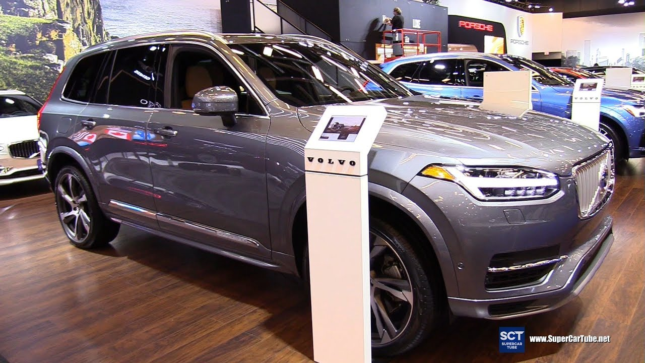 2019 Volvo Xc90 T8 Exterior And Interior Walkaround 2019 Montreal Auto Show